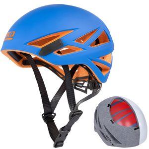 LACD - leichter Kletterhelm Defender RX - In Mold Technik  - einfache Größenanpassung - blau, Größen:M