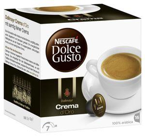 Nescafé Dolce Gusto Dallmayr Crema d'Oro | 16 Kaffeekapseln