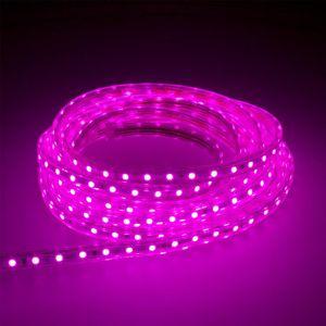 LED Lichtschlauch Leuchtstreifen 5m Lila Partybeleuchtung Lichtstreifen Lichtband Lichtleiste Lichterkette Lichterschlauch LED Strip Stripe Beleuchtung für Aussen und Innen