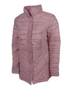 Damen Steppjacke Übergangsjacke Sommerjacke Frühling Sommer Jacke leicht rose, Größe:L