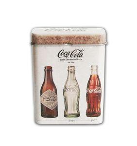 ZIGARETTENDOSE Blech Shabby-Look Zigarettenbox Zigarettenetui Zigaretten Etui Box Case (Coca-Cola)