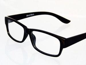 NERD Nerdbrille Slim Fit schmaler Rahmen Pantobrille Hornbrille Lesebrille ohne Stärke