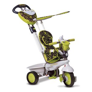 smarTrike Dreiräder Kinder Dream 4-in-1 Junior Gelb
