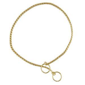 Maximum Elegance Gold Halsketten 3,5mm. x 38cm. GOLDENER CHROM