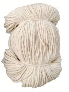 Baumwollkordel Creme 8 mm 50 m