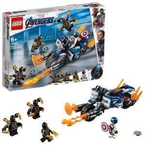 LEGO® Marvel Super Heroes™ Captain America: Outrider-Attacke, 76123