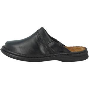 Josef Seibel Clogs Hausschuhe Schwarz Schuhe, Größe:43
