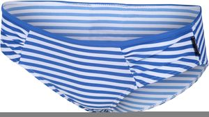 Regatta Aceana Bikini Slip Damen strong blue stripe Größe UK 14 | DE 40