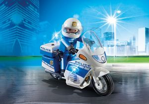 PLAYMOBIL 6923 - City Action - Polizeimotorrad mit Gyrophare