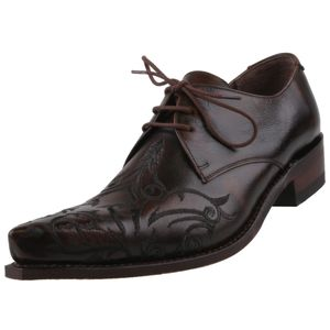 Sendra Herren Halbschuhe 7650 Braun, Schuhgröße:EUR 44