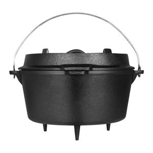 Dutch Oven Gusseisen 9,5 Liter