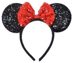 Maus Ohren Mouse Haarreif Mausohren Damen