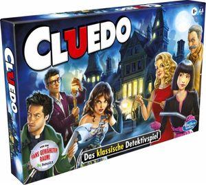 Cluedo 38712594 - spannendes Detektivspiel für die ganze Familie, klassisches Brettspiel ab 8 Jahren