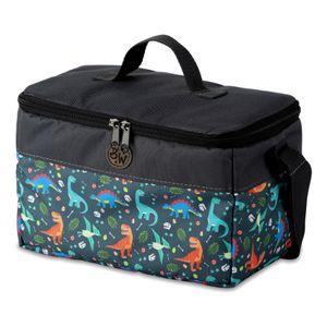 BAMBINIWELT Tasche für Toniebox, Musikbox-Tasche, für Hörwürfel z.B. Toniebox und Tigerbox Touch, verstellbare Innenfächer, Netzbeutel für Zubehör, Toniebox Tasche, Modell 16