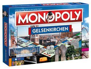 Monopoly Gelsenkirchen Stadt City Edition Gesellschaftsspiel Brettspiel Spiel