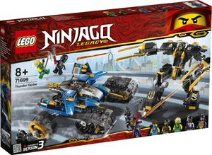 LEGO NINJAGO Donner-Räuber - 71699, Bausatz, Junge/Mädchen, 8 Jahr(e), 576 Stück(e), 800 g