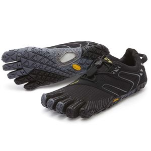 Vibram FiveFingers V-Trail Women + Zehensocke, Size:38, Color:Grey/Black/Orange