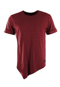 Project X Paris Oversize T-Shirt Men 88161116 Dunkelrot, Größe:S