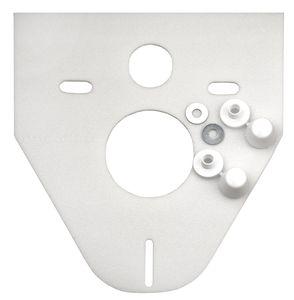 Schallschutzset für Wand WC