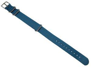 Timex Uhrenarmband | Outdoorband Textilgewebe blau 18mm TW2P88700