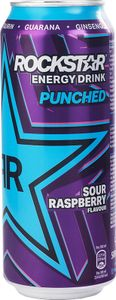 Rockstar Supersours Blue Raspberry 0,5l Dose