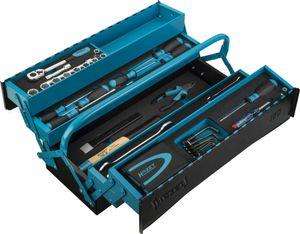 HAZET Metall-Werkzeugkasten mit Sortiment 190/79