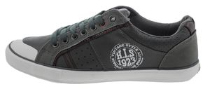 His H131-002 Sneaker grau, Groesse:45.0