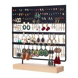 Schmuckständer Ohrringhalter ständer, 144 Löcher Ohrstecker ständer ohrring Organizer Schmuckhalter Ohrschmuck-Display Schmuckaufbewahrung