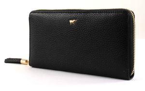 Braun Büffel Langbörse m. Reisverschluss 18 Kreditkartenfächer 10,5 x 19 x 2,5 cm (H/B/T) Damen Brieftasche