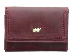 Braun Büffel Venice Damen Geldbörse / Schlüsseletui Leder Cherry Rot Minibörse