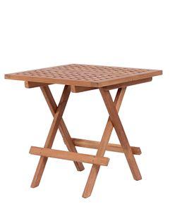 Beistelltisch Devon Teak Tisch Balkontisch Gartentisch