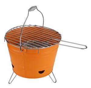 Grilleimer mit Füßen Party BBQ Einweggrill