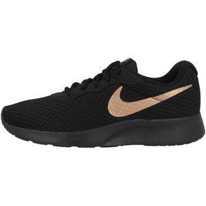 Nike Damen Sneaker Sneaker Low Textil schwarz 39
