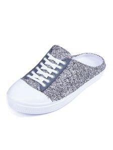 Damen Plateausandalen Runde Zehen Tasche Zehen Freizeitschuhe,Farbe: Grau,Größe:41