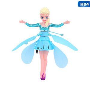 Mädchen Fliegendes Spielzeug USB Fliegende Kleine Fee Levitation Fernbedienung Induktionsflugzeug Spielzeug-Gefroren
