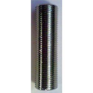 Schankhahnstutzen beidseitig Einstich, NW 10mm - 5/8 Zoll Gewinde, 110mm