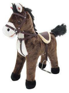 """Sweety Toys 5062 Stehpferd Plüsch Pferd Chocolate """" My little PONY"""" mit Funktion Sound Pferde Galopp und Gewieher, Sattel und Steigbügel,Sweety-Toys"""