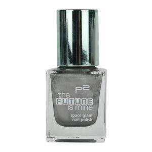 P2 Nägel Nagellack Nagellack The future is mine- nail polish 833926, Farbe: 010 silver lining, 12 ml