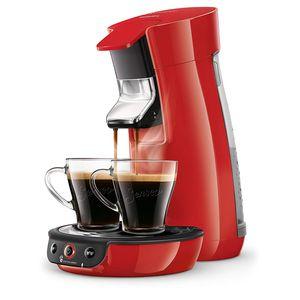 Philips HD6563 / 81 Kaffeepadmaschine SENSEO Viva Red Coffee