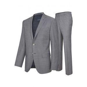 Daniel Hechter - Modern Fit - Herren Baukasten Anzug in grau oder Blau  (100105), Größe:60, Farbe:Grau (920)