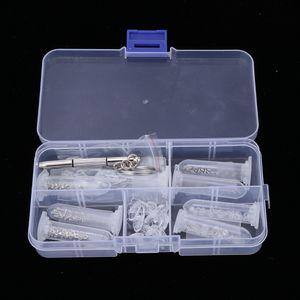 Brillenreparaturset, Brillen Reparatur Kit, inkl. mini Muttern & Schrauben, Nasepads, Schraubendreher für Brillen, Uhren, Handys