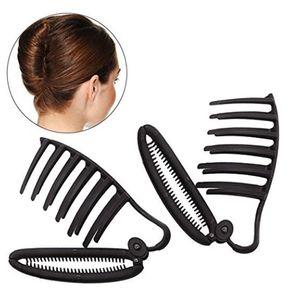 2 Stück Frauen DIY Haar Styling Zubehör Haar Clip Französisch Friseur Twist