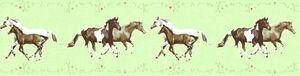 A.S. Création Bordüre Little Stars bunt grün 5,00 m x 0,13 m 358381 35838-1