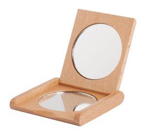 Davartis - Taschenspiegel aus Buchenholz - plastikfrei