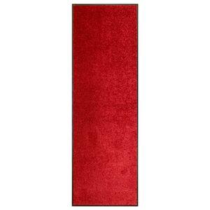 SIRUITON Fußmatte Waschbar Rot 60X180 cm