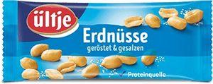 Ültje Erdnüsse gesalzen eine leckere und feine Proteinquelle 50g