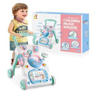 Laufwagen Lauflernhilfe Lauflernwagen Walker Baby Gehfrei Kinder Piano Spielzeug Baby Walker Lauflernwagen