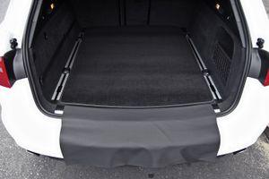 3-teilige Kofferraummatte mit Ladekantenschutz für Audi A6 4G C/ Avant Kombi