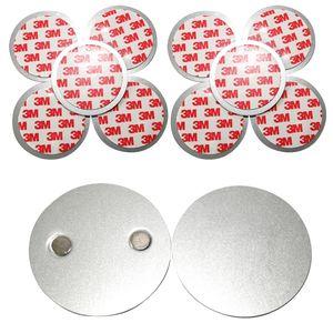 10er SET Rauchmelder Magnethalter - Selbstklebend für kleine und Mini Rauchmelder - 3M Klebepads mit Magnethalterung zur einfachen Befestigung/OHNE BOHREN UND SCHRAUBEN/PLUG & PLAY MONTAGE