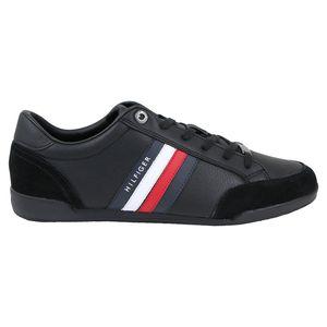 Tommy Hilfiger Cupsole Corporate Sneaker Herren Schwarz (FM0FM03429 BDS) Größe: 43